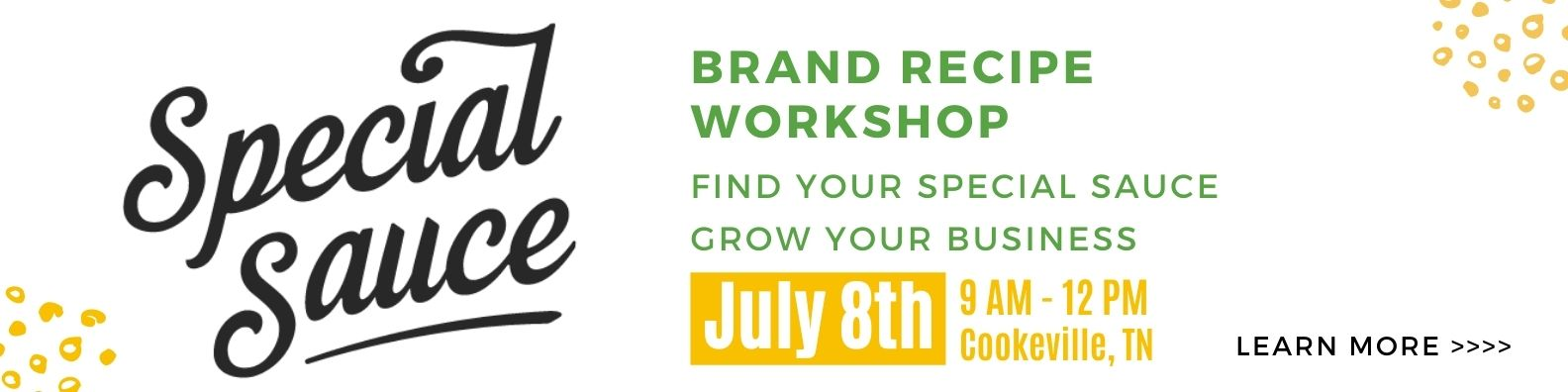 """Special Sauce """"Grow Your Brand Workshop"""""""